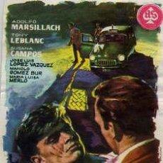 Cine: 091 POLICIA AL HABLA / ADOLFO MARSILLACH-TONY LEBLANC (JOSE MARIA FORQUE1960) PROGRAMA DE MANO. Lote 29502191