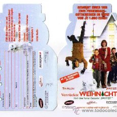 Cine: DOBLE TROQUELADO -VERRÜCKTE WEIHNACHTEN - TIM ALLEN - JAMIE LEE CURTIS - 1979. Lote 29644595