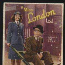 Cine: P-7355- MISS LONDON LTD. (ARTHUR ASKEY - EVELYN DALL - ANNE SHELTON). Lote 29716097