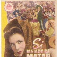 Kino - SI ME HAN DE MATAR MAÑANA- PEDRO INFANTE, SOFIA ALVAREZ Y EL CHICOTE - 29732696