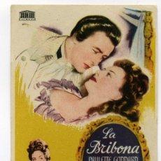 Cine: LA BRIBONA, CON PAULETTE GODDARD.. Lote 29808603