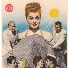 Cine: EN UNA ISLA CONTIGO- ESTHER WILLIAMS, PETER LAWFORD, RICARDO MONTALBAN, XAVIER CUGAT. Lote 29830399