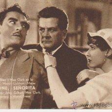 Cine: PERDONE,SEÑORITA. PROGRAMA TARJETA DE MGM. . Lote 29848666