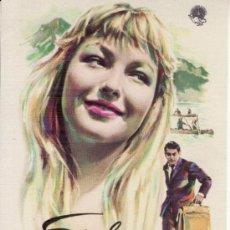 Cine: PROGRAMA DE CINE- EVA. Lote 29849168