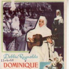 Cine: DOMINIQUE. PROGRAMAS DE CINE Y MAS COLECCIONISMO EN RASTRILLOPORTOBELLO. Lote 29850121