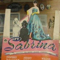 Cine: SABRINA - PARAMOUNT 1956. Lote 29861965