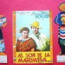 Cine: AL SON DE LA MARIMBA. CON PUBLICIDAD. Lote 29889083