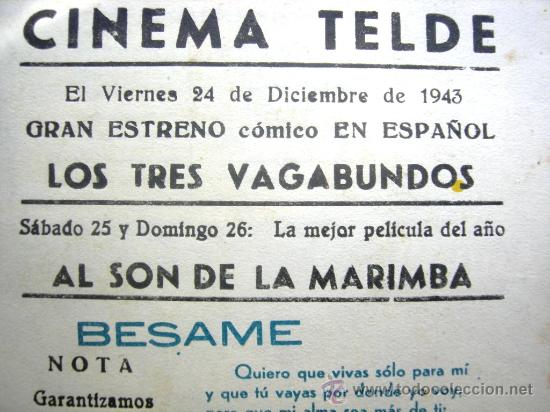 Cine: AL SON DE LA MARIMBA. CON PUBLICIDAD - Foto 3 - 29889083