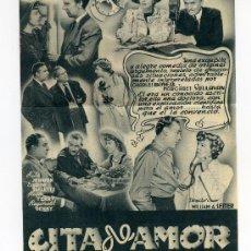 Cine: CITA DE AMOR, CON CHARLES BOYER.. Lote 29902162