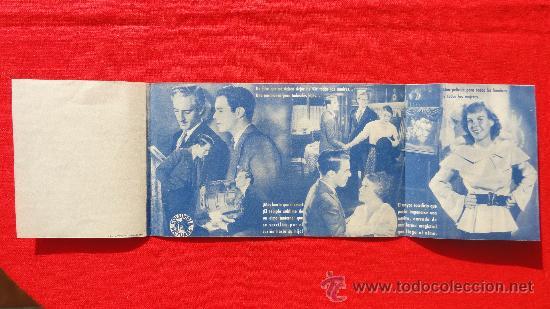 Cine: LA SUBLIME MENTIRA, PAULINE LORD, BASIL RATHBONE, IMPECABLE PROGRAMA DOBLE ORIGINAL, SP - Foto 2 - 29913894
