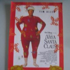 Cine: VAYA SANTA CLAUS - FOLLETO DE MANO ORIGINAL ESTRENO. Lote 29924033