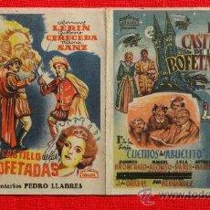Cine: EL CASTILLO DE LAS BOFETADAS, DOBLE ARAJOL ORIGINAL, EXCELENTE ESTADO SP. Lote 29936528
