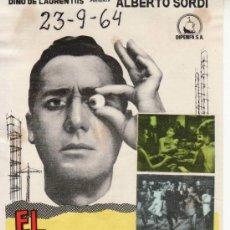 Cine: EL ESPECULADOR. SIN PROPAGANDA. Lote 29953803