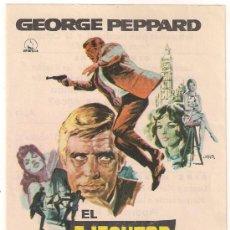 Cine: EL EJECUTOR PROGRAMA SENCILLO DIPENFA GEORGE PEPPARD JOAN COLLINS. Lote 29986019