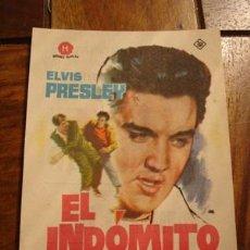 Cine: EL INDÓMITO - ELVIS PRESLEY . Lote 30013290