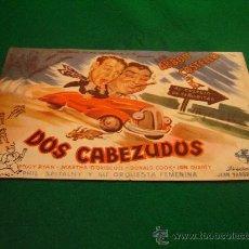 Cine: BUD ABBOT Y LOU COSTELLO - DOS CABEZUDOS - . Lote 30043826