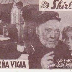 Cine: LA PEQUEÑA VIGÍA. PROGRAMA TARJETA DE FOX.. Lote 30074772