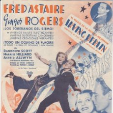 Kino - Sigamos la Flota. Doble grande de Radio films. Cine Astoria 1939. - 30082075