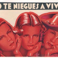 Cine: NO TE NIEGUES A VIVIR PROGRAMA DOBLE CB ASTORIA CINE ESPAÑOL ISMAEL MERLO TROQUELADO SIN TROQUELAR. Lote 30070411