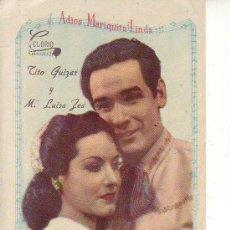 Cine: ADIOS MARIQUITA LINDA. Lote 30126456