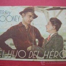 Cine: EL HIJO DEL HÉROE. CON PUBLICIDAD. Lote 30173768