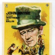 Cine: LOS COMANCHEROS, CON JOHN WAYNE.. Lote 297055358