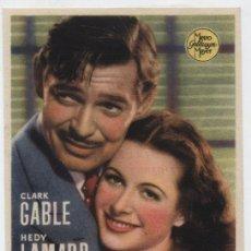 Cine: CAMARADA X. SENCILLO DE MGM. CINE CORDÓN - BURGOS.. Lote 30440021