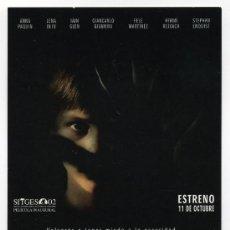 Folhetos de mão de filmes antigos de cinema: DARNESS, DE JAUME BALAGUERO.. Lote 70117083