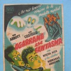 Cine: AGARREME ESE FANTASMA - MISCHA AUER - ANDREWS. Lote 30319268