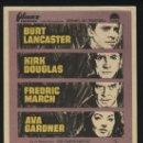 Cine: P-7912- SIETE DIAS DE MAYO (SEVEN DAYS IN MAY) KIRK DOUGLAS - AVA GARDNER - BURT LANCASTER. Lote 30340478