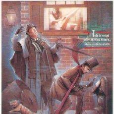 Cine: SIN PISTAS PROGRAMA TARJETON FILMAX SHERLOCK HOLMES MICHAEL CAINE BEN KINGSLEY. Lote 198248898