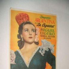 Cine: LA CIGARRA IMPERIO ARGENTINA PROGRAMA DE MANO. Lote 30372550