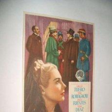 Cine: RECUERDO DE AQUELLA NOCHE PROGRAMA DE MANO. Lote 30372588