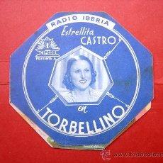 Cine: ESTRELLITA CASTRO - TORBELLINO - RADIO IBERIA - CON PUBLICIDAD. Lote 30526009