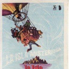 Cine: LA ISLA MISTERIOSA.. Lote 36527438