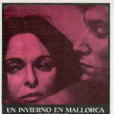 Cine: UN INVIERNO EN MALLORCA.GEORGE SAND AND F.CHOPIN. Lote 30535175