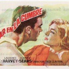Cine: UN LUGAR EN LA CUMBRE.. Lote 30562482