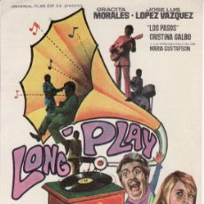 Cine: LONG PLAY. Lote 30562540