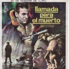 Cine: LLAMADA PARA EL MUERTO. Lote 30562622