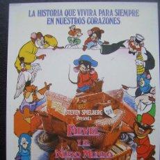 Cine: FIEVEL Y EL NUEVO MUNDO. Lote 30577302