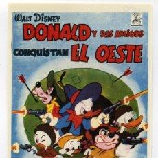 Cine: DONALD Y SUS AMIGOS CONQUISTAN EL OESTE, PROD. WALT DISNEY.. Lote 114538500