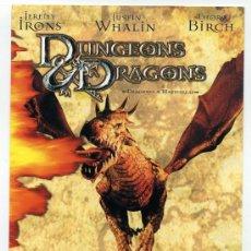 Cine: DRAGONES Y MAZMORRAS, CON JEROMIN IRONS.. Lote 30666096