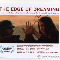 Cine: THE EDGE OF DREAMING.. Lote 30670325