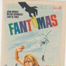 Cinema - Fantomas. Sencillo de Floralva. Cines Bohemio y Galileo 1965. ¡IMPECABLE! - 30689729