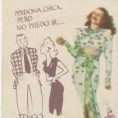 Cine: GILDA. PROGRAMA SENCILLO PEQUEÑO DE COLUMBIA.. Lote 30756709