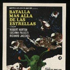 Cine: P-0086- BATALLA MAS ALLA DE LAS ESTRELLAS (THE GREEN SLIME) (ROBERT HORTON - RICHARD JAECKEL). Lote 115351567