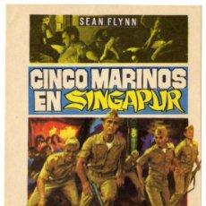 Cine: PROGRAMA CINE - CINCO MARINOS EN SINGAPUR - MARC MICHEL - TERRY DOWNES - DENIS BERRY . Lote 30816978