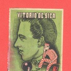 Cine: MI PASADO EQUIVOCO FELIZ, VITORIO DE SICA, CON PUBLICIDAD. Lote 30820292