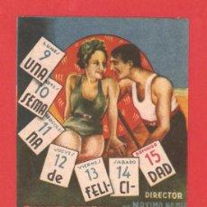 Cine: UNA SEMANA DE FELICIDAD, RAQUEL RODRIGO, TONY D'ALGY, IMPECABLE ORIGINAL ARAJOL, SP. Lote 30887936