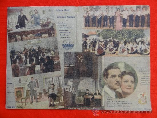 Cine: JULIETA Y ROMEO, PROGRAMA DOBLE 1943, CON PUBLICIDAD GARCILASO - Foto 2 - 30938569